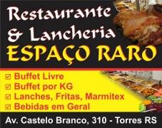 Restaurante e Lancheria Espaço Raro Torres RS Logo