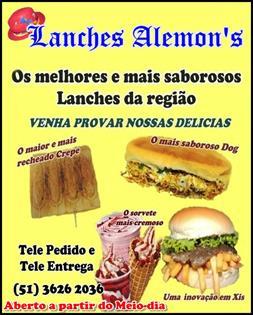 Lanches Alemons Torres RS Foto 1