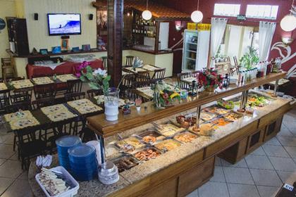 Bar e Restaurante Cantinho da Mana Torres RS Foto 3