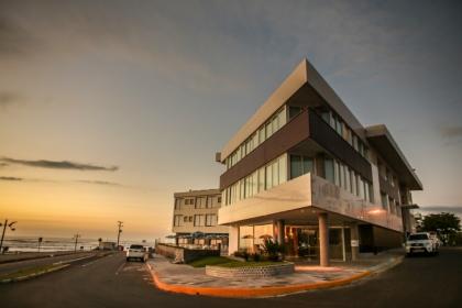 Restaurante Mirador anexo ao Dunas Praia Hotel Torres RS Foto 1