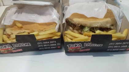 Lancheria ToKa do Lanche Delivery Torres RS Foto 3