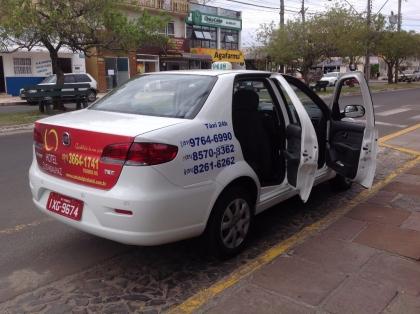 Táxi Evilásio e Emerson 24 horas ponto taxi hospital Torres RS Foto 6