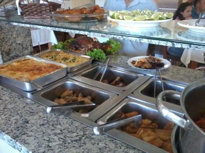 Restaurante Cantinho do Rio Passo De Torres SC Foto 8