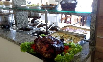 Restaurante Cantinho do Rio Passo De Torres SC Foto 6