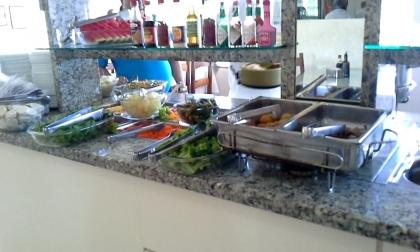Restaurante Cantinho do Rio Passo De Torres SC Foto 2