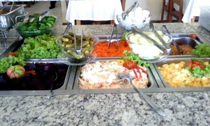 Restaurante Cantinho do Rio Passo De Torres SC Foto 4