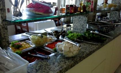 Restaurante Cantinho do Rio Passo De Torres SC Foto 9
