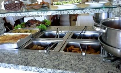 Restaurante Cantinho do Rio Passo De Torres SC Foto 12