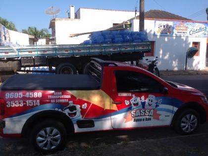 Sassá Água Mineral e Gás tele entrega disk gás Sombrio SC Foto 2